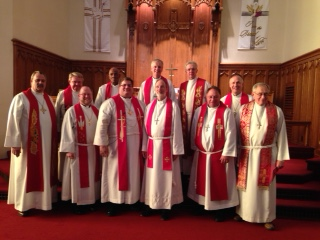 Pastors at Ordination